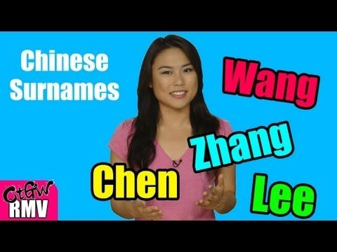 Top 10 Chinese Surnames + Origins/Facts - Did you know that the people with the top 3 surnames in China are more than the population in Indonesia? Or the surnames Zhang, Cheung and Chang are for the same Chinese characters? Find out more here!