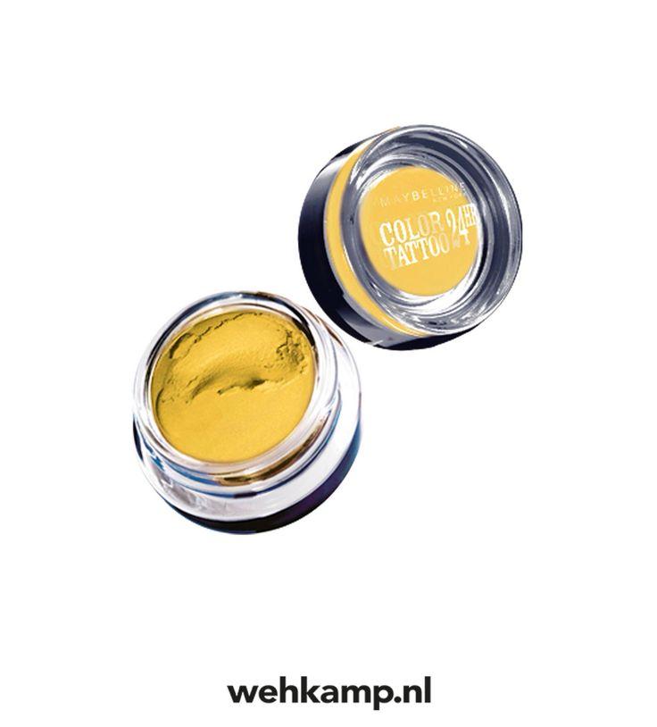 Maybelline Eyestudio Color Tattoo oogschaduw - 50 Gold gezien! Wat vind jij ervan? http://www.wehkamp.nl/index.ashx?ArtikelNummer=454185