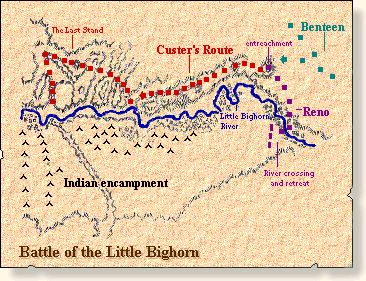 In late 1875, Sioux and Cheyenne Indians defiantly left their reservations, outraged over the continued intrusions of whites into their sacred lands in the Black Hills. They gathered in Montana with the great warrior Sitting Bull to fight for their lands. The following spring, two victories over the US Cavalry emboldened them to fight on in the summer of 1876.