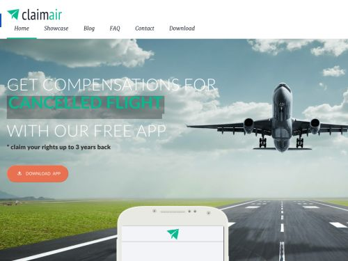 ClaimAir: Collect flight compensations on the go