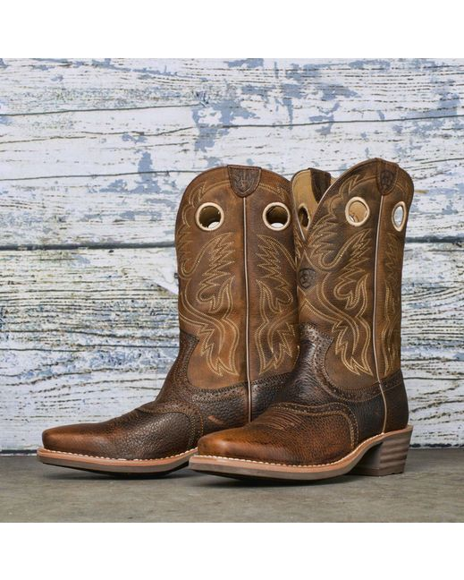 Men's Cowboy Boots…since he's into country music now, he really wants some cowboy boots.