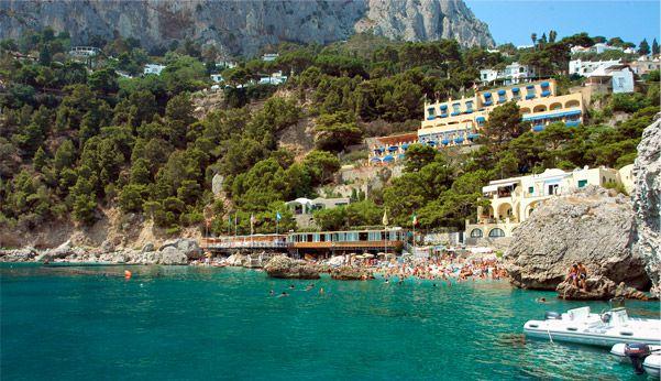 The hotel from our wedding - Hotel Weber Ambassador - Isle of Capri, Italy