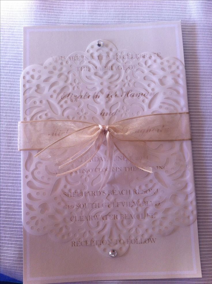 print yourself wedding invitations kit%0A Invitations DIY box set of    includes ribbon invitations RSVP cards and  envelopes      reg     off sale at Hobby Lobby so I got   sets    invites   for