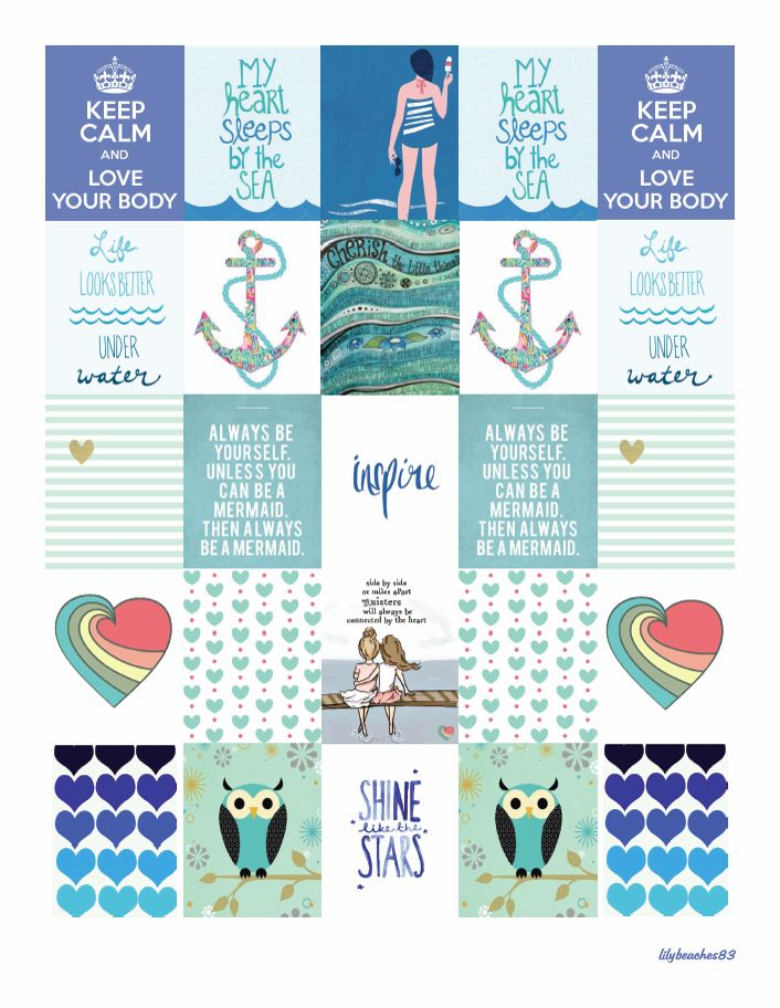 FREE Planner Stickers vLily LYB Series