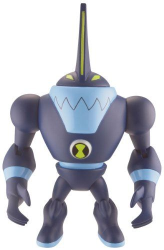 """Ben 10 Ultimate Alien Eatle by Ben 10. $13.99. Comes with 1"""" mini figure. Articulated 4"""" figure. Mini figure for use with the Revolution Ultimatrix (item 32123). Power Rangers Spring 2012. Blister Card Packaging. From the Manufacturer                Each Ben 10 4"""" articulated Ultimate Alien comes with a disc alien or accessory. Use the disc alien with the Disc Alien Ultimatrix and watch your favorite alien heroes appear!                                    Product Descriptio..."""