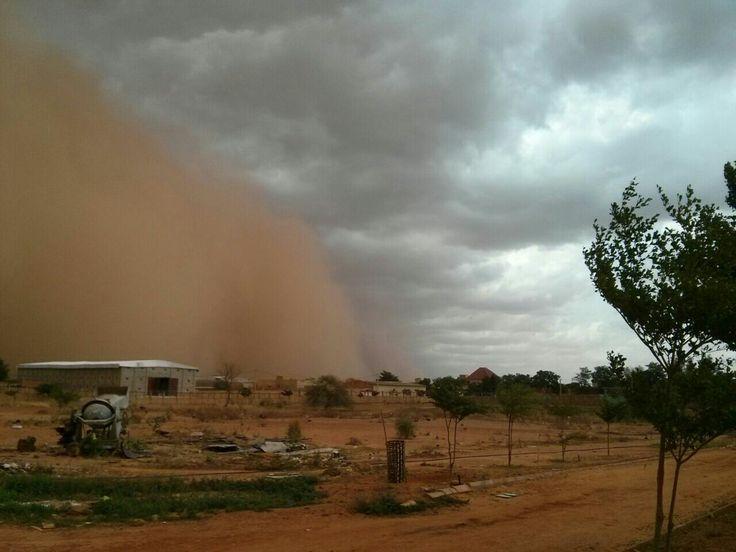 Kum Fırtınası #nijer #niger #niamey