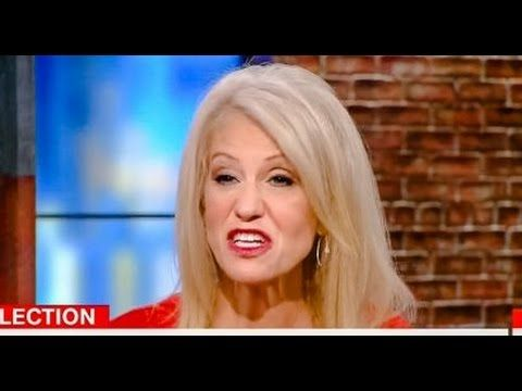 thank you Kellyanne! nasty in leftest minds ONLY! HAHA!  ***Kellyanne Conway's Nasty Interview With CNN While Trying To Defend Trump...