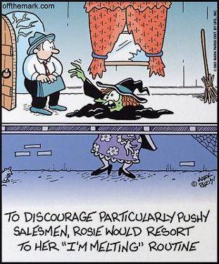 Halloween Witch comic lol