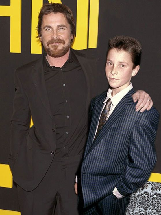 Image result for Christian Bale then and now