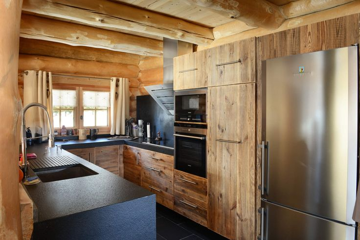 niet 39 s lodge la cuisine chalet pinterest photos cuisine et chalets. Black Bedroom Furniture Sets. Home Design Ideas