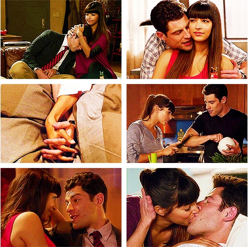 "Schmidt & Cece. ""You and I not being together does not make sense to me."""