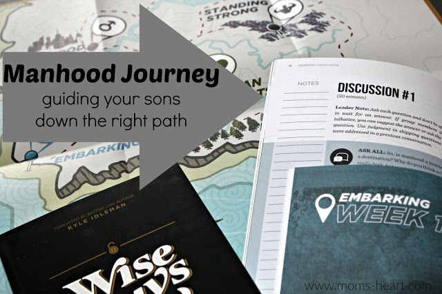 Mom's Heart: Manhood Journey {review}