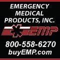 Emergency Medical Products, Inc. (EMP) is your one stop shop for EMS supplies,patient transport, airway, breathing, immobilization and extrication, infection control, emergency response, pharmaceuticals, equipment bags/cases, teaching and training equipment, and more.   Serving first responders, fire and rescue, police, hospitals, colleges and universities, and more for 40 years, EMP is your premier source for emergency medical equipment and supplies.