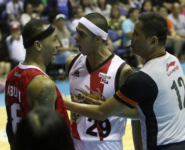 The San Miguel Beermen evened their series with the Alaska Aces in a highly physical match, 100-86, of the PBA Philippine Cup Finals over at the Smart-Araneta Coliseum.