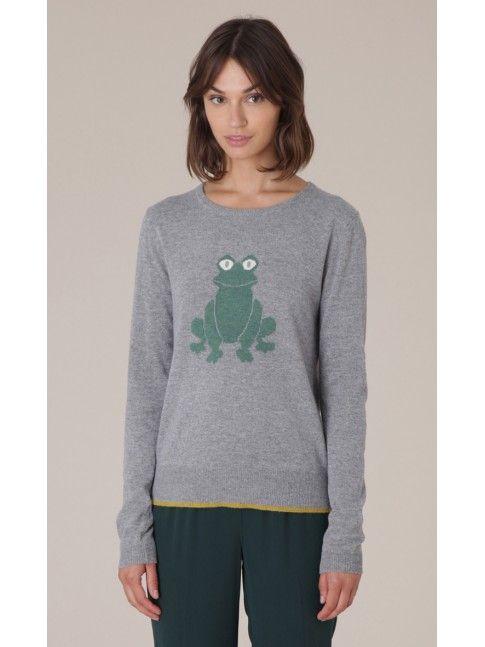 #Jersey con dibujo de rana de Nice Things #Fashion #Moda