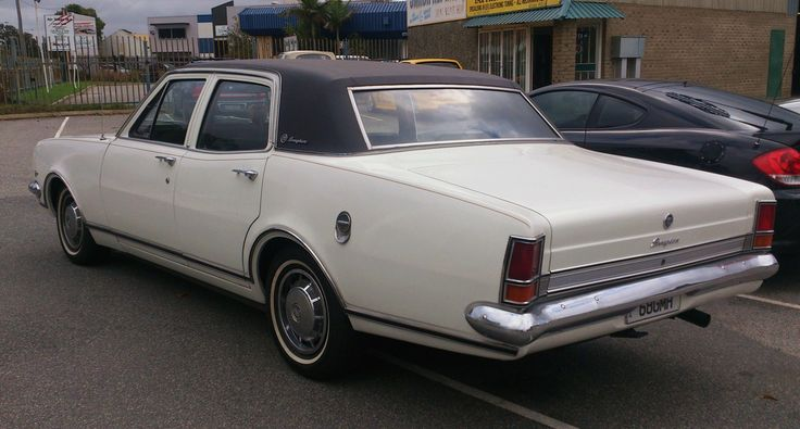1968 Holden HK Brougham (Australia) Maintenance/restoration of old/vintage vehicles: the material for new cogs/casters/gears/pads could be cast polyamide which I (Cast polyamide) can produce. My contact: tatjana.alic@windowslive.com