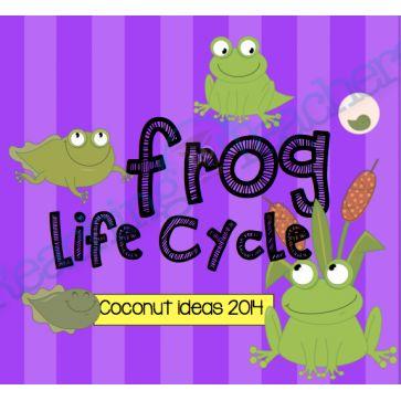 Frog Life Cycle- Writing Template
