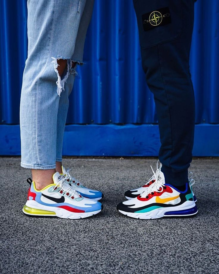 Nike Air Max 270 Reagieren Sie in bunt AO4971 002