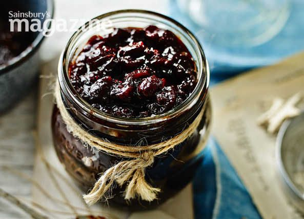 This Christmas chutney from Lucy Jessop at Sainsbury's magazine is delicious with a cheeseboard or served with cold cuts
