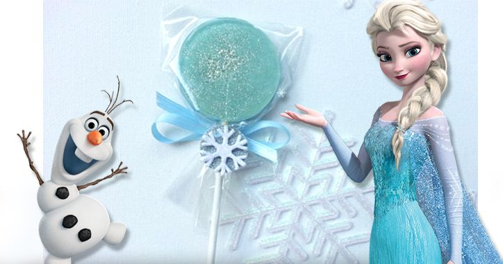 Recette sucettes La Reine des Neiges Sucettes Frozen