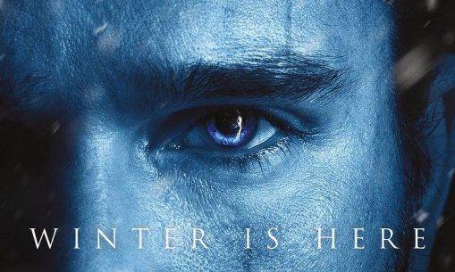Affiche portrait pour la saison 7 de 'Game of Thrones'