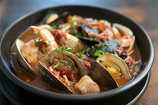 San Francisco Style Cioppino Italian Fish Stew With Fresh