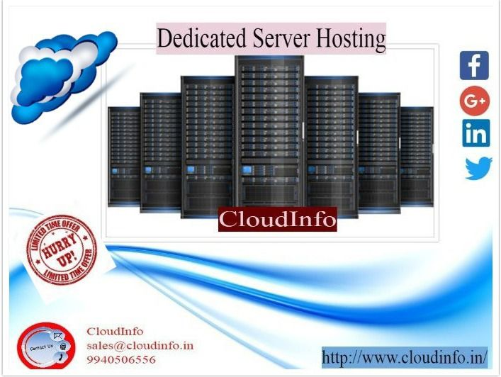Cloudinfo is the best web hosting company in chennai.It offers web hosting,dedicated server hosting web development and web design for details please login to http://www.cloudinfo.in/