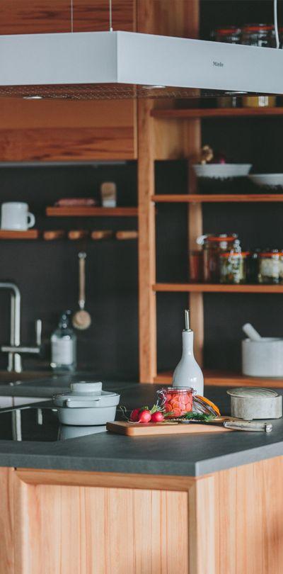 48 best Holzküchen images on Pinterest - küche eiche rustikal