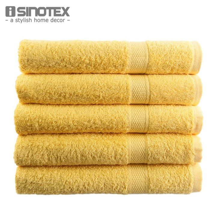 Top Selling 1 PCS/Lot Cotton Towel Solid Yellow Plain Dyed Quick-Dry Face Towels: Top Selling 1… #GolfShopping #GolfSupplies #Golfers