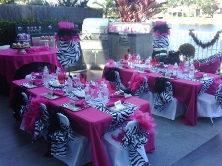 101 best zebra weddings images on pinterest zebra wedding pink zebra print wpink and black junglespirit Gallery
