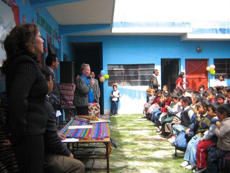 26 Opening ceremonies - Nancy speaking