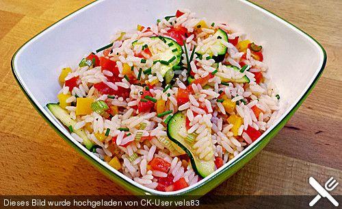 Sommerlich leichter Reissalat, ein schmackhaftes Rezept aus der Kategorie Vegetarisch. Bewertungen: 60. Durchschnitt: Ø 4,2.