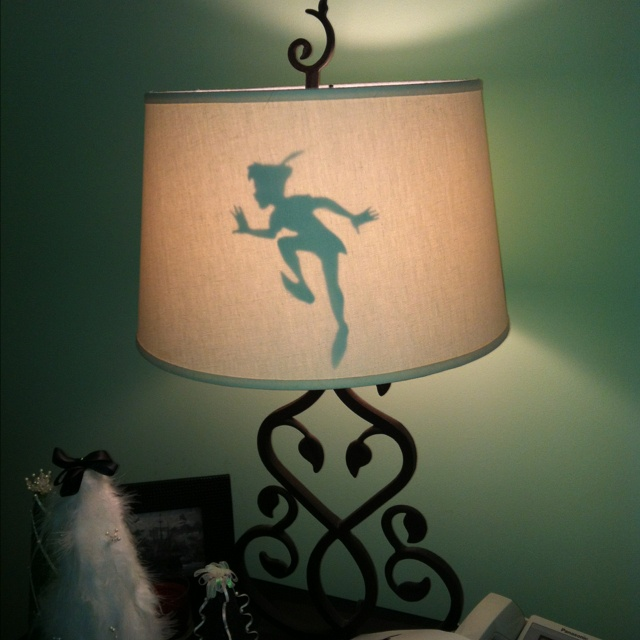 Pinner said: I saw the other Peter Pan shadow pin and had to try and  re-create it. It's pretty difficult to do with a lamp so I taped the cutout  on the ...