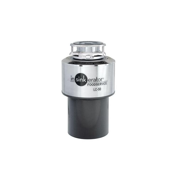 InSinkErator LC-50 Light Duty Garbage Disposal Commercial Faucet Commercial Garbage Disposal Continuous