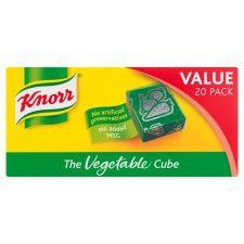 Knorr Vegetable Stock Cubes 20x 10g