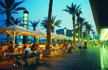 Good reasons to party in Barcelona no. 2a - Barceloneta - countless bars, restaurants and clubs right by the marina and the beach, so after you've finished shopping... http://www.stagsandhens.com/barcelona-hen-weekends.php
