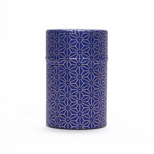 This stainless steel storage box is covered with japanese paper with traditional motifs. It sports a second lid made of plastic to keep...
