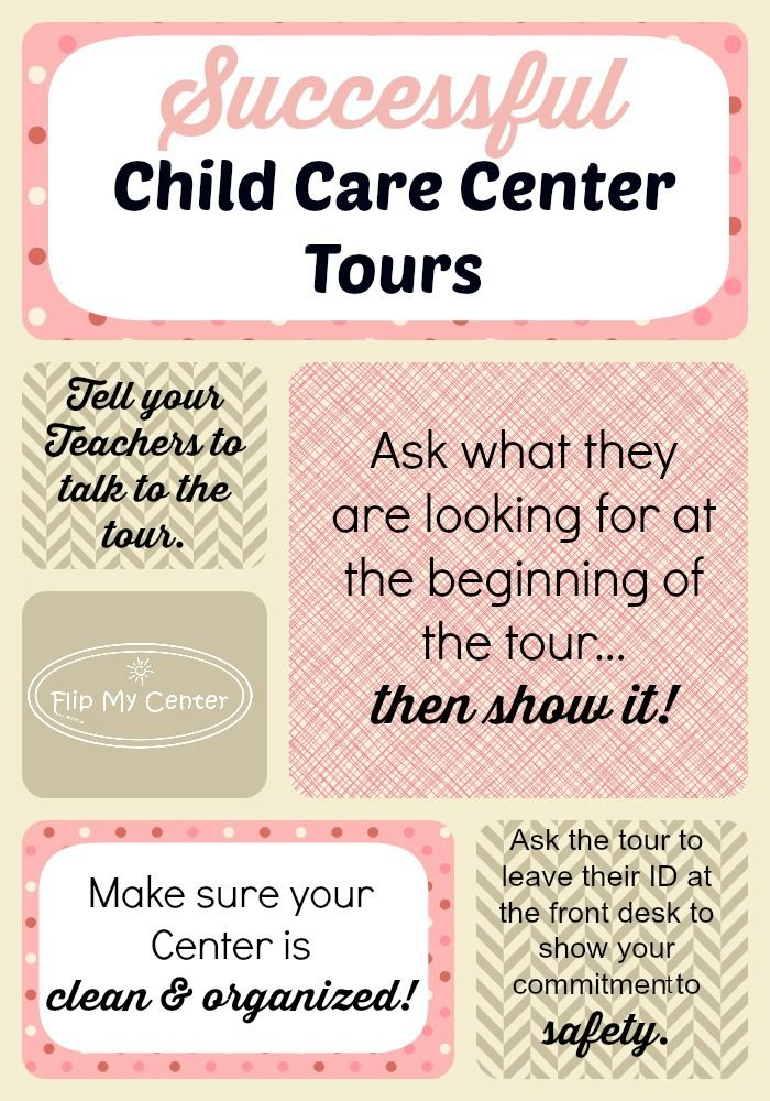 want more #childcare customers?   follow these easy steps to get tours to sign up their children at your center!