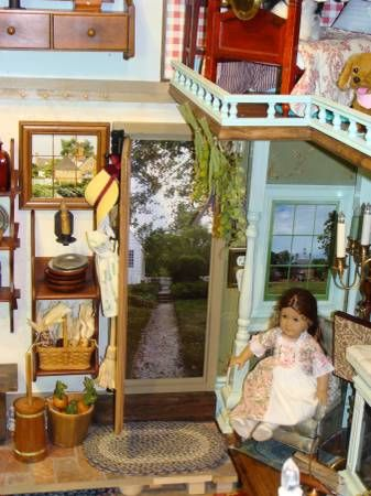 Living A Dollu0027s Life : Inspirational Doll House   Felicity