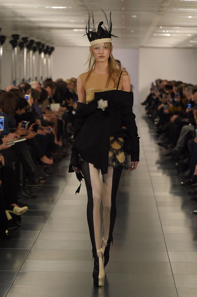 John Galliano's First Haute Couture Collection at Maison Margiela. More photo at: http://www.fashionsnap.com/collection/maison-martin-margiela/artisanal/2015ss-couture/