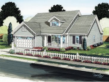Small Country Home, 059H-0129