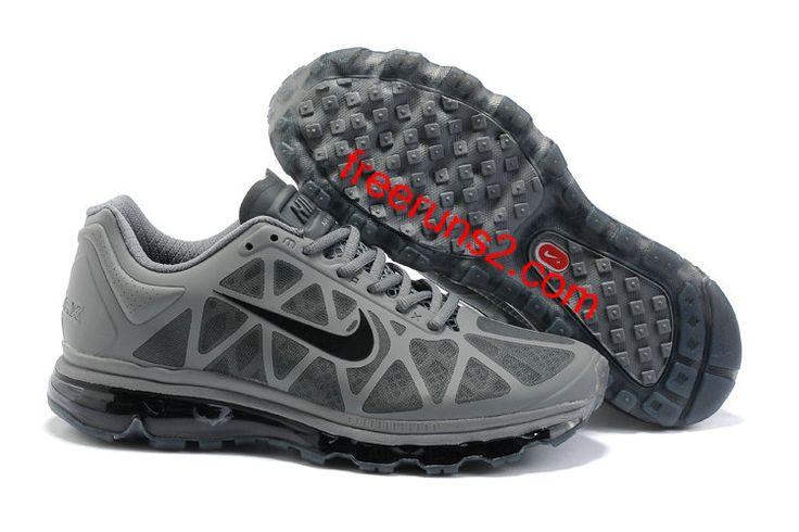 #WholesaleShoesHub.COM    Mens Nike Air Max 2011 Cool Grey/Anthracite Sneakers