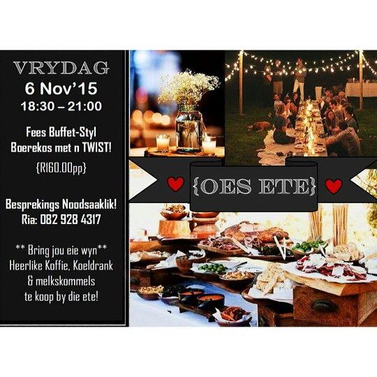 Harvest feast ... presented by Lorraine Swanepoel Kokkedoor 2014