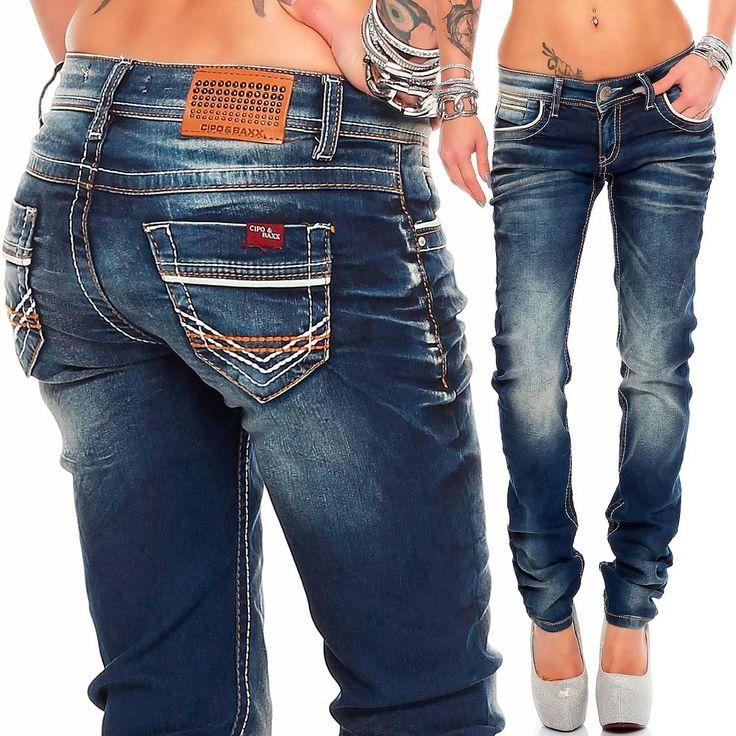 Cipo baxx jeans fur damen