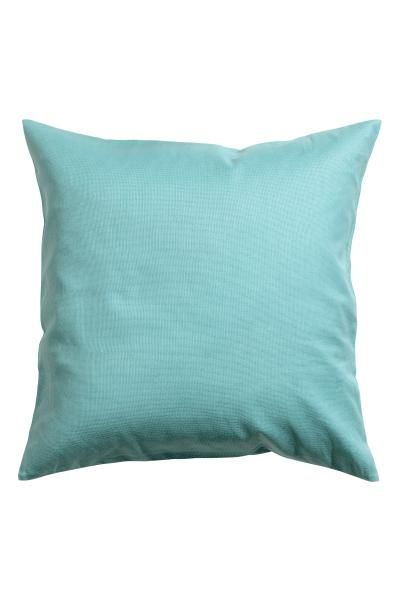 These are really cheap cushion covers - great to change the new cushions to. Canvas cushion cover: Cushion cover in cotton canvas with a concealed zip.