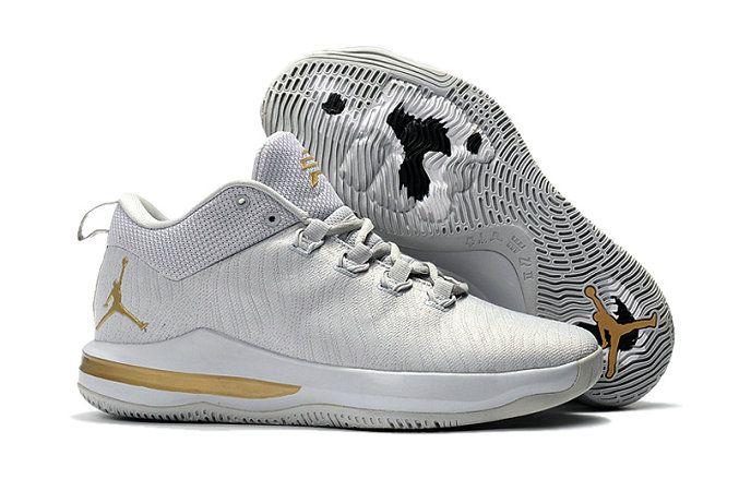 Discount Jordan CP3.10 Grey Gold Basketball Shoe For Sale