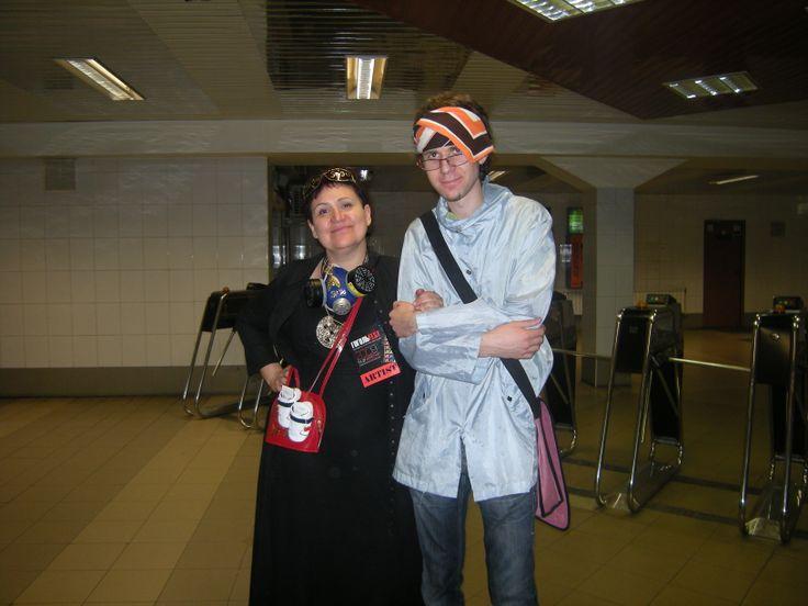 Tatiana Chebrova (Strontium'90 Art Group) and Ivan Trebeljahr