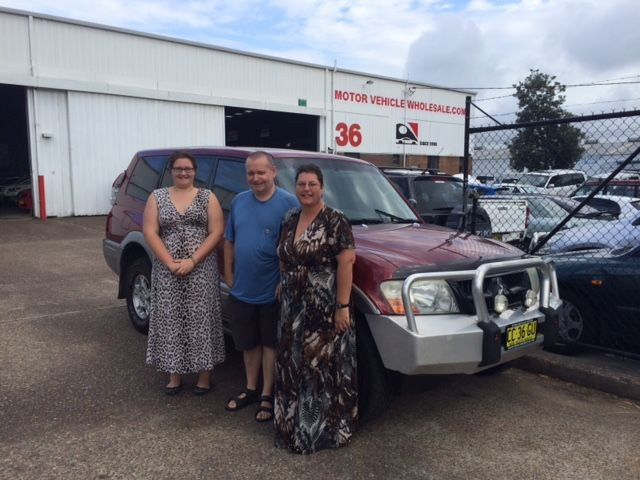 All the way from Pambula to pick up their new Turbo Diesel Pajero! Thansk for visiting Motor Vehicle Wholesale