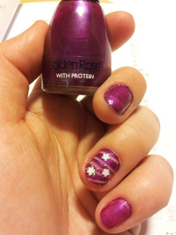 Mé hvězdné nehty pro štěstí. ;-)