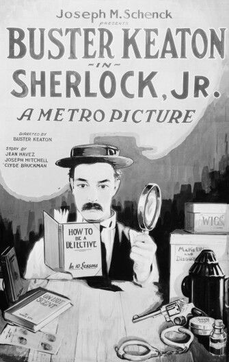 #62. Sherlock, Jr. (1924) ** directed by Buster Keaton
